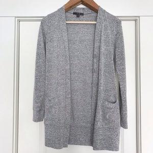 TwentyOne | Marled Grey Long Cardigan Sweater